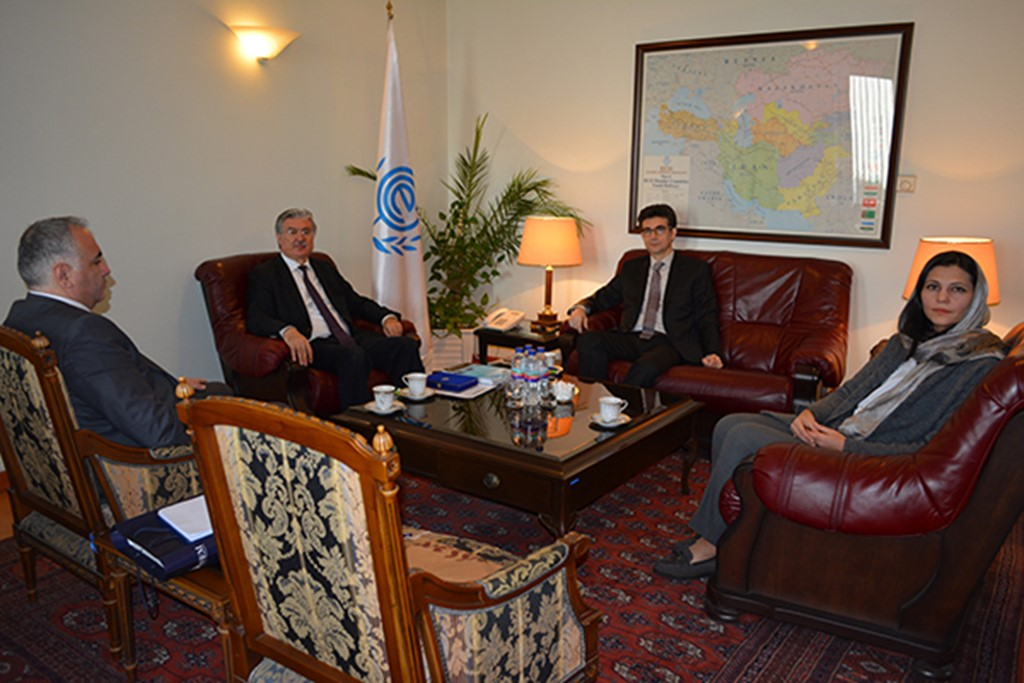 Meeting between Secretary General, ECO, and the Presidents of ECO Specialized Agencies at the ECO Secretariat, Tehran