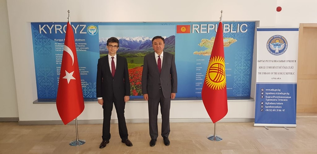 Visit to Ambassador of the Kyrgyz Republic to Turkey